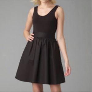 """Theory """"Boa"""" mixed media dress, 8, good condition"""